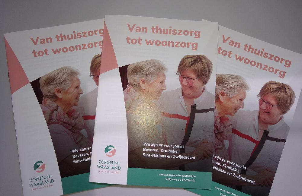 Brochure van thuiszorg tot woonzorg