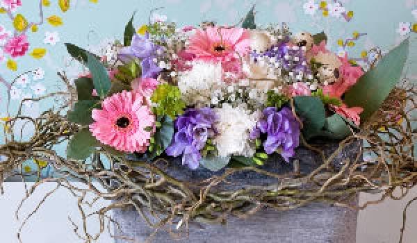 bloemschikken: Rollebollenwerkje